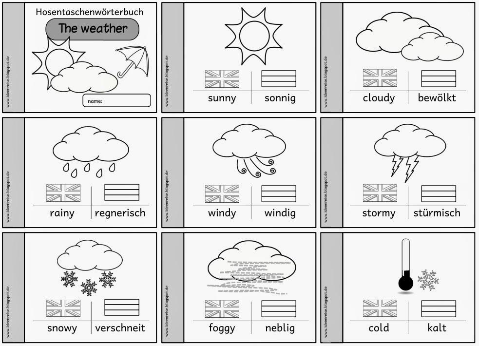 ideenreise hosentaschenw246rterbuch quotthe weatherquot