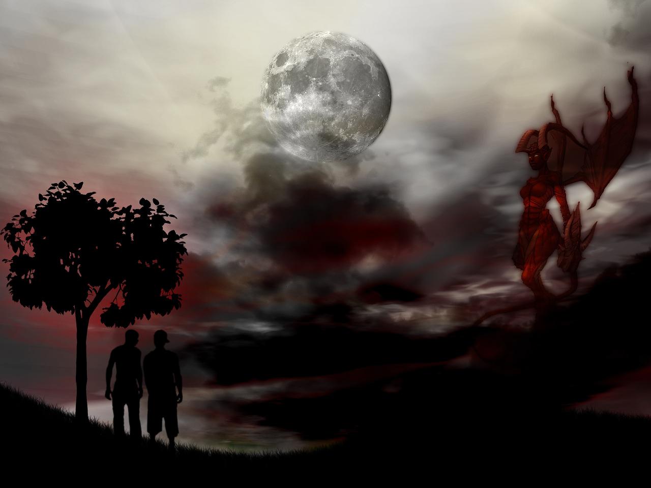bonewallpaper - best desktop hd wallpapers: devil desktop wallpapers