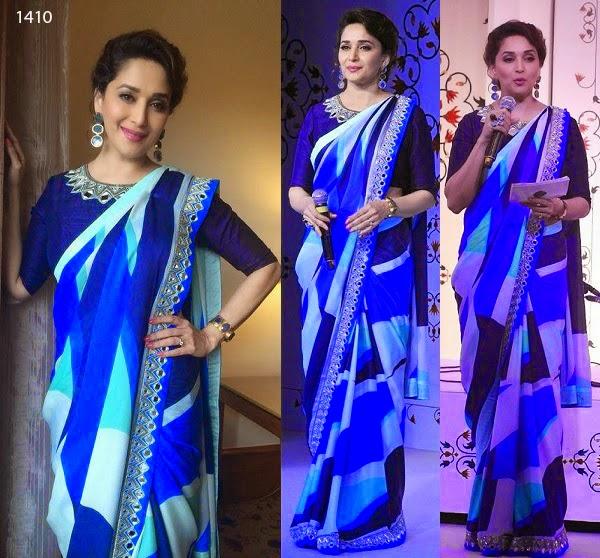 Bollywood Acteress Designer Saree