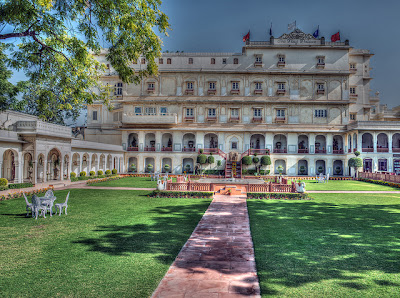 The+Raj+Palace+Grand+Heritage+Hotel A Royal Stay in Jaipur   Top 3 Heritage Hotels for Palatial Luxuries