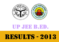 -BEd 2013 Results l UP Joint Entrance Examination B.Ed. - 2013 Result