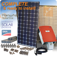 hanwha solarone solar panel for home review