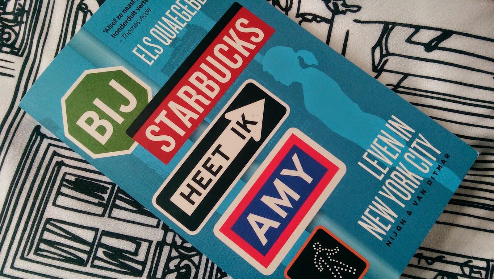 Els Quaegebeur - Bij Starbucks heet ik Amy (front)