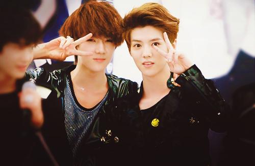 Hmm   segitu dulu yang bisa admin share ke kalian   admin akan    Exo Sehun And Luhan 2013