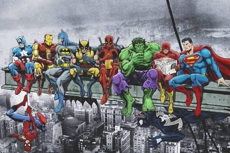 Marvel e DC no intervalo entre filmes