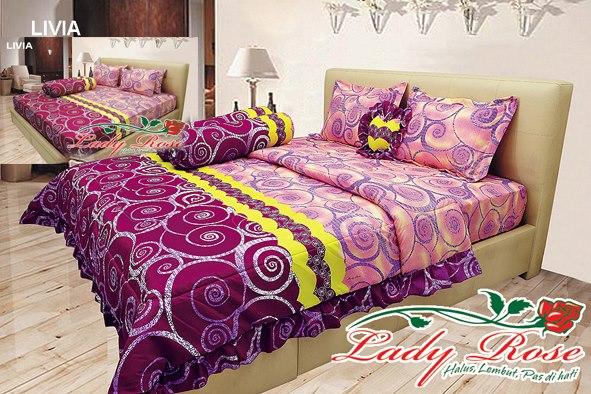 jual sprei lady rose murah surabaya, distributor sprei lady rose surabaya