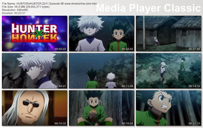 "Download Film / Anime Hunter x Hunter 2011 Episode 98 ""Penyusupan dan Seleksi"" Bahasa Indonesia"
