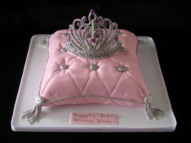 Princess cake by Frosted Cakery http://frostedcakery.com ...