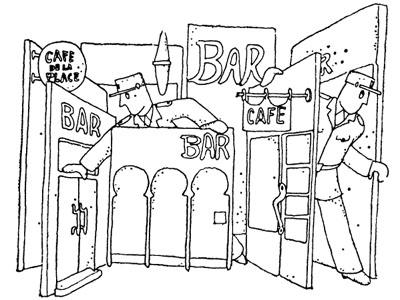 Картинка к задаче про бары