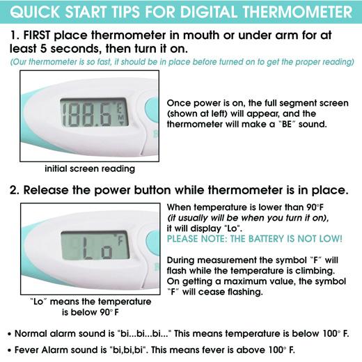 Premium Digital Baby Thermometer #BnMePremiumDigitalBabyThermometer
