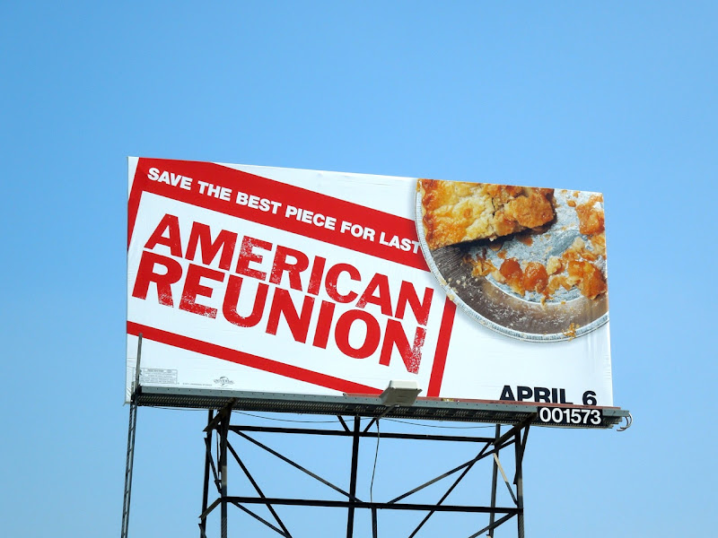 American Reunion pie billboard