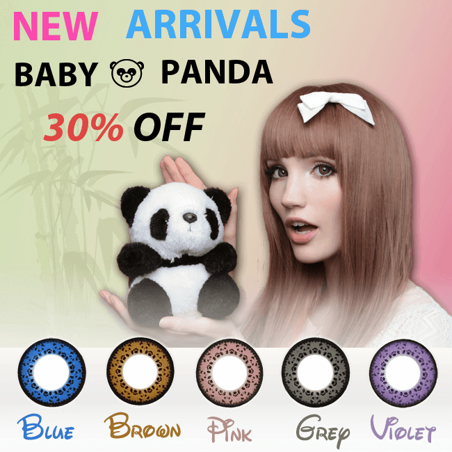 New Arrivals - Baby Panda Circle Lenses