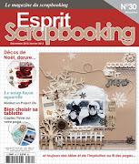 Publication Esprit Scrapbooking n°30