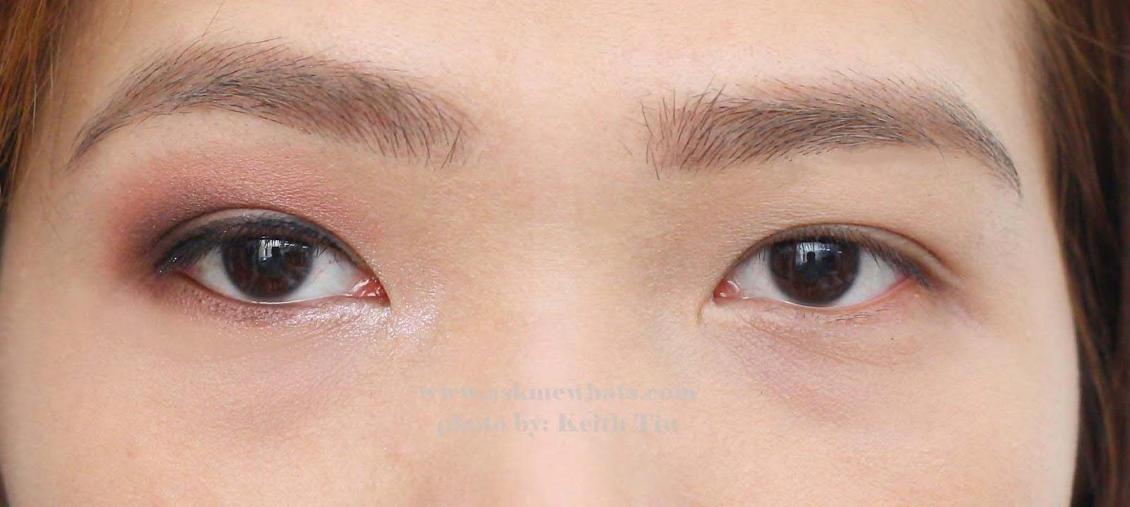 Макияж глаз на каждый день для нависших век фото