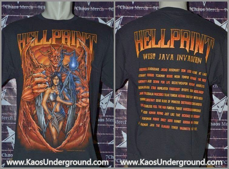 hellprint festival 2014 kaosunderground.com dark castle sevenchaos merch