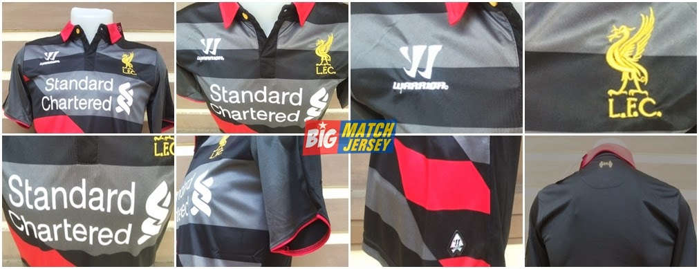 Detail Jersey Liverpool 3rd (Third) Official 2014-2015