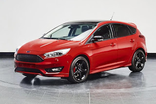 Ford Focus Red Edition Hatchback (2016) Front Side