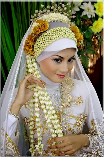 Hijab Modern untuk Pengantin Terbaru 2015