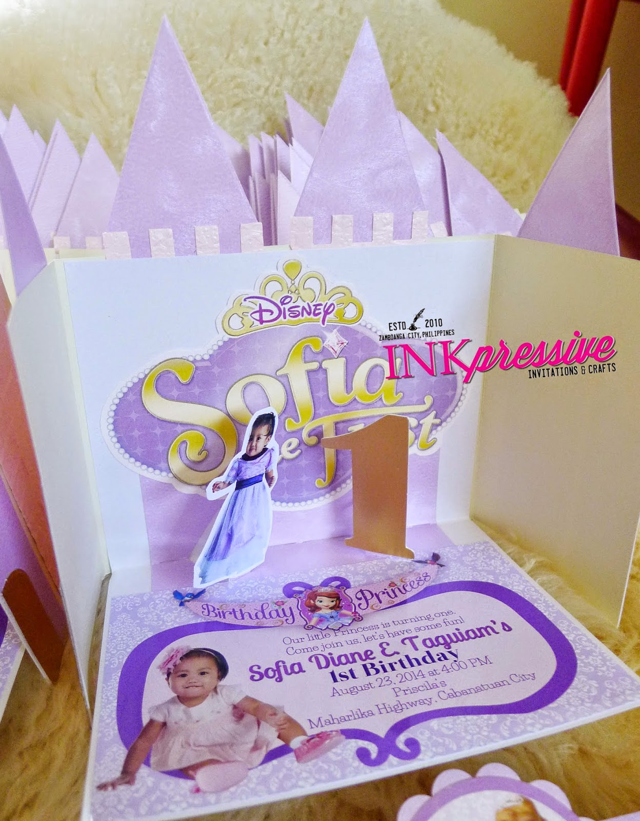 Princess Sofia Pop Up