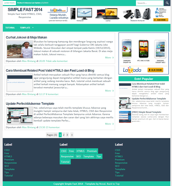 Simple Fast 2014 Responsive