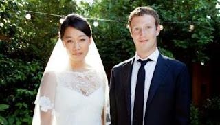 Se casó Mark Zuckerberg y lo publicó en Facebook (foto)