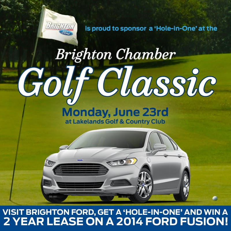 Register or Volunteer for the Brighton Chamber's Golf Classic at Lakelands Golf and Country Club