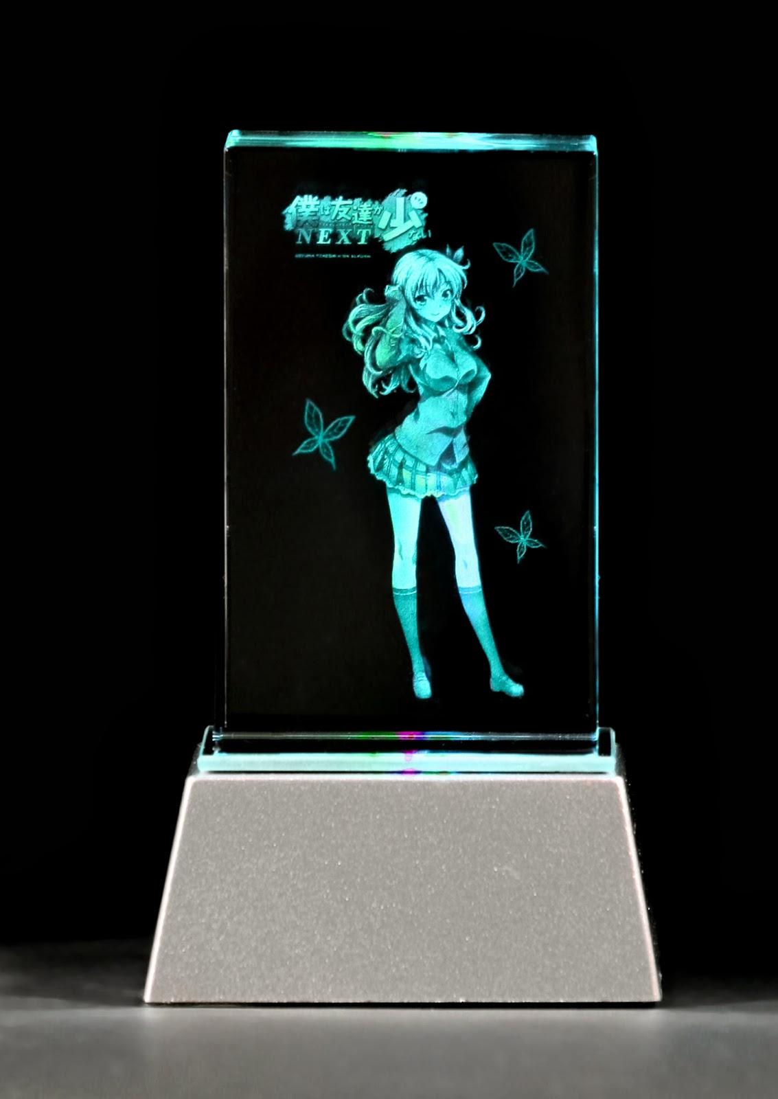 Cool Sena Kashiwazaki Premium Crystal 8x8x5cms