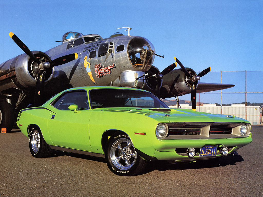 In 1970 they produced what they called the AAR 'Cuda. AAR stands for
