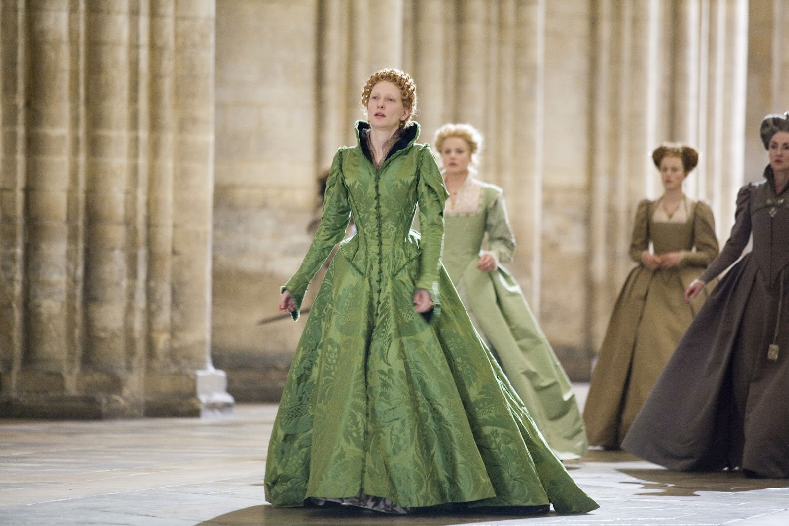 Image result for GREEN BROCADE DRESS