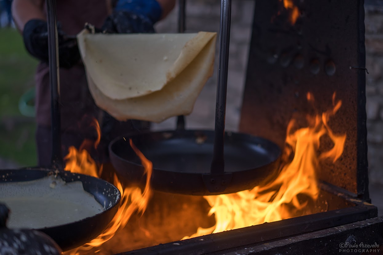 Festa dos Povos Chaves - Comida