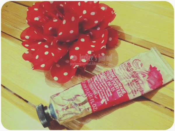the body shop wild rose hand cream, Pakistani beauty blog