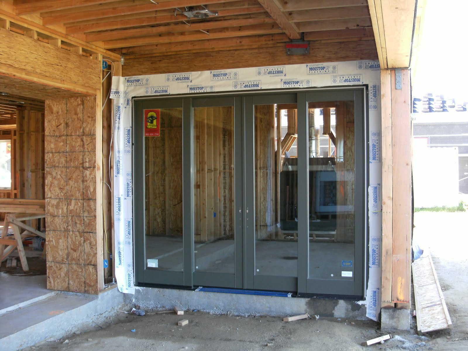 How we build your dream home part 6 for Oversized exterior french doors
