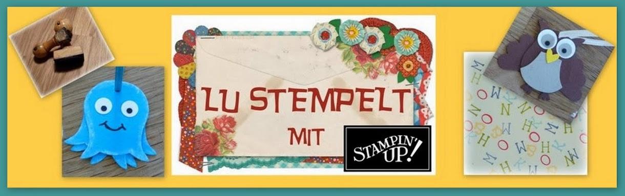 lu stempelt mit stampin up!
