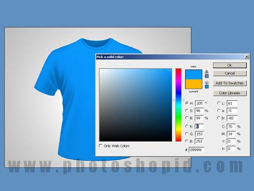 Cara Membuat Desain Kaos Dengan Photoshop