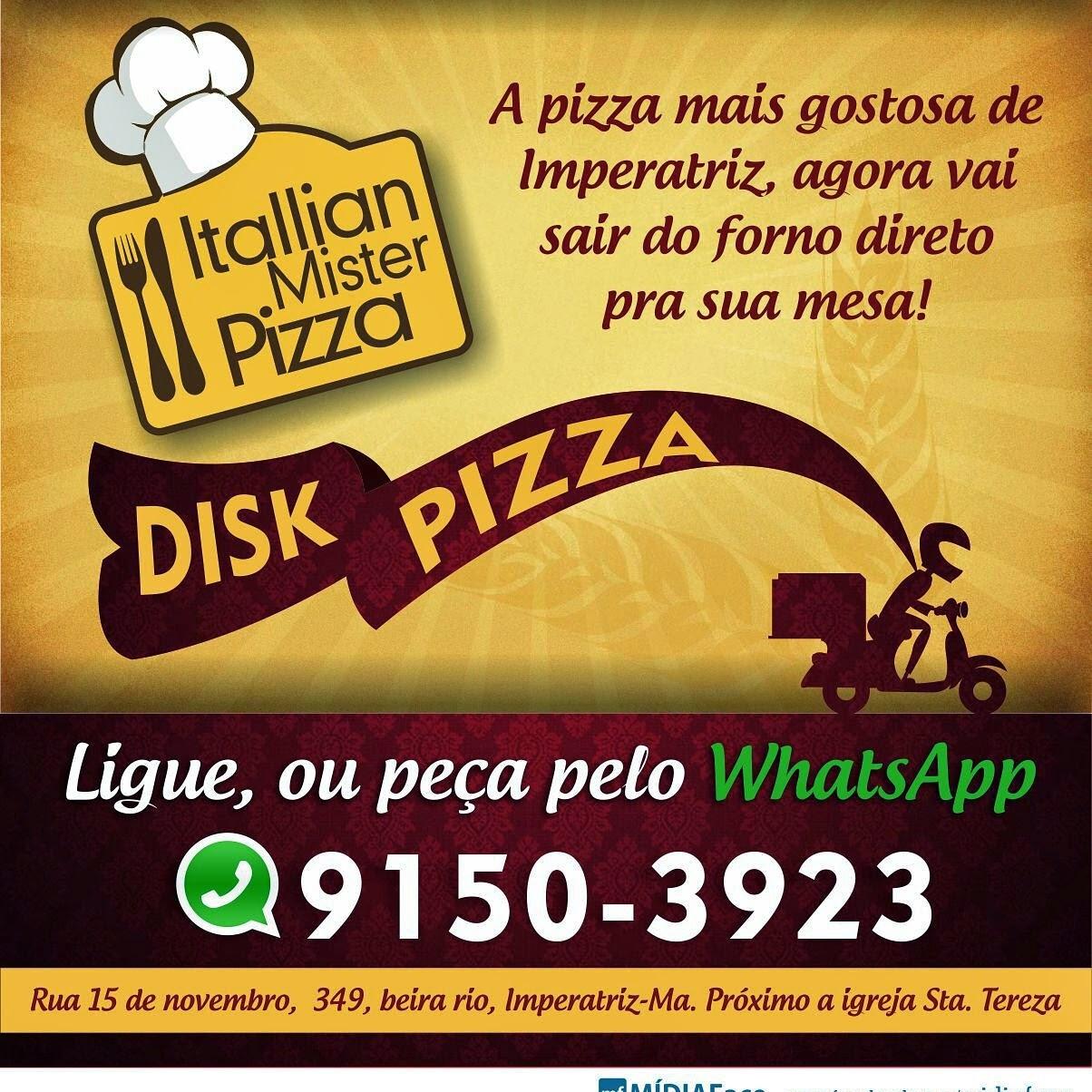 A MELHOR PIZZA NO MELHOR LOCAL
