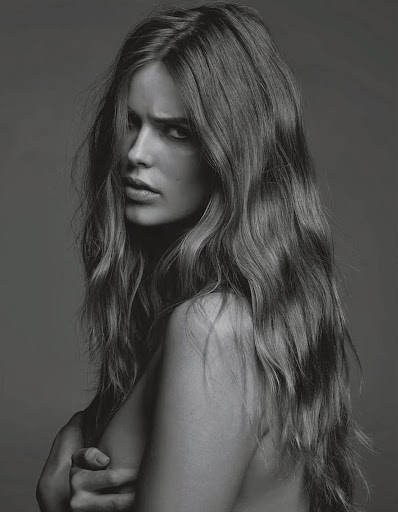 Robyn Lawley topless for GQ Australia November 2013