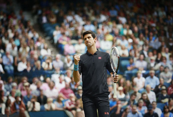 Novak Djokovic US Open UNIQLO Performance Wear