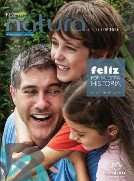 Revista Natura C-8 Colombia 2014
