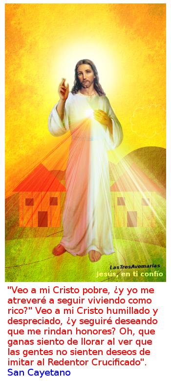 imagen de la divina misericordia con lo que dijo un santo