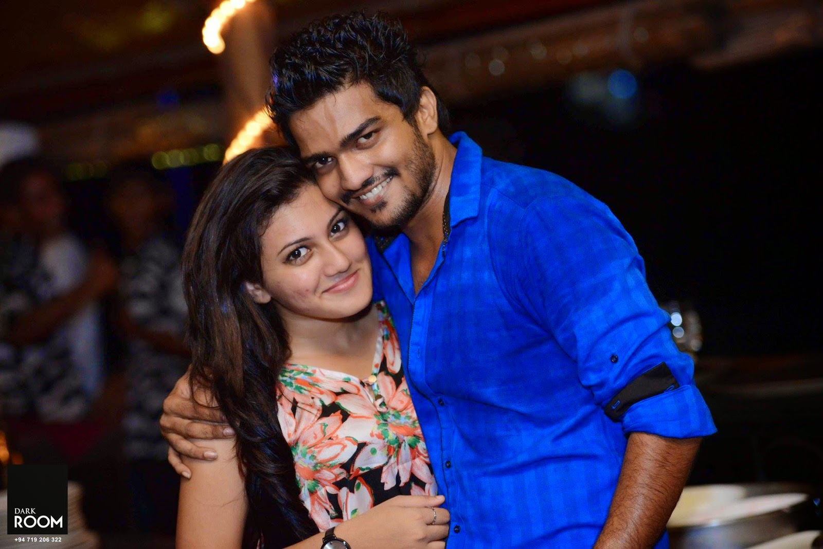 Shanudri Priyasad with actor