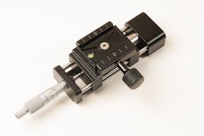 Hejnar PHOTO MS4 Macro / Micro Rail - F72b QR clamp detail