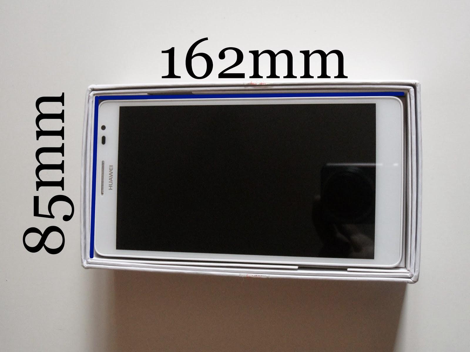 Tamaño de Huawei Ascend Mate