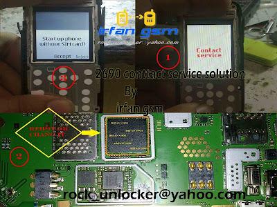 Nokia 2690 contact service problem