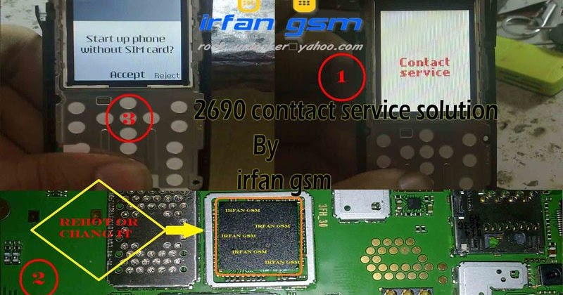 Nokia 2690 Contact Service Problem Repair Guide