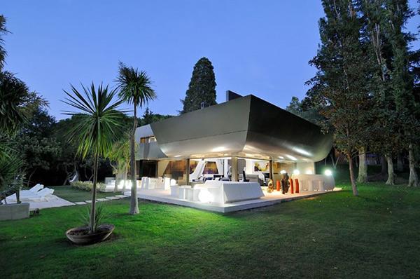 Rumah Futuristik Kombinasi Desain Modern dan Seni Kontemporer & Rumah Futuristik Kombinasi Desain Modern dan Seni Kontemporer ...
