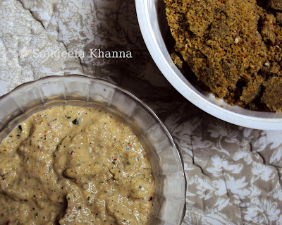spring onion fenugreek chutney