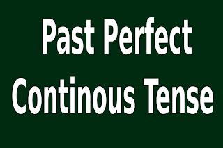 Cara cepat dan mudah belajar bahasa inggris ~  Past Perfect Continous Tense