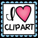 I Love Clipart