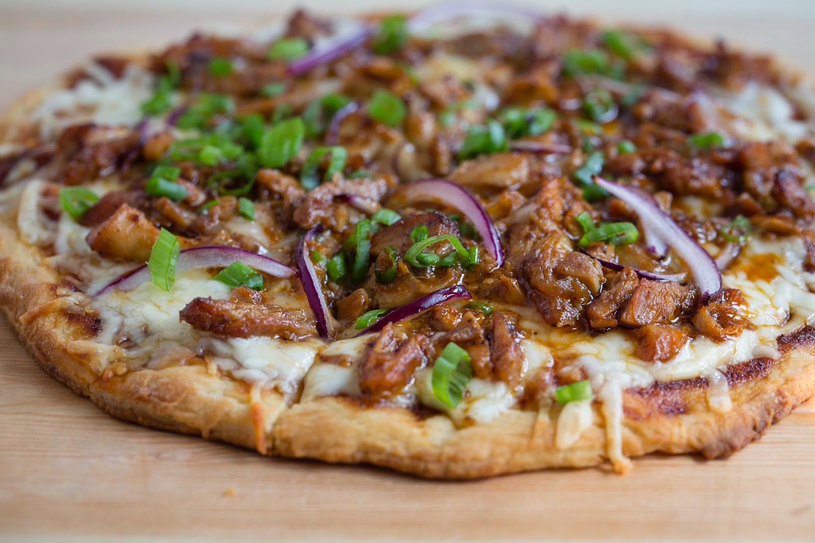 Jay D's Barbecue Chicken Pizza