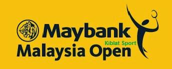 Hasil Skor Pertandingan Maybank Malaysia Open Super Series 2014